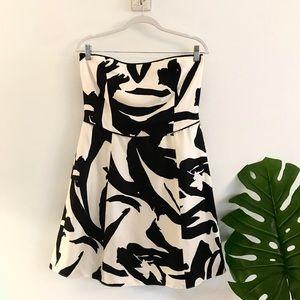 Ann Taylor 🌸 Silk Strapless Dress SZ 10